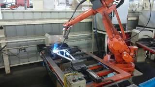 Advanced Robotic Bike Frame Welding 1 (Battle Fujita Bicycle  Factory)