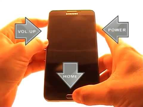 Samsung Galaxy Note 3 Hard Reset (Factory reset)
