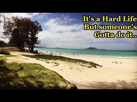 My Trip to Hawaii - Beach Survival & Raw Silat Fun