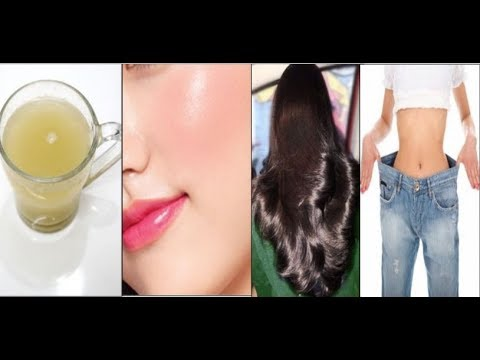 Have A Cup of this Beauty Drink to Lose 2 Kgs, Glowing Skin & Thicker Hair