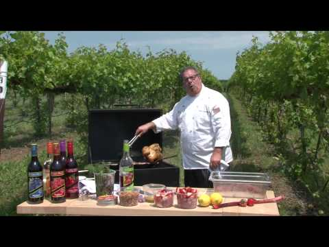 St. James Winery: Cooking With Our Strawberry Wine