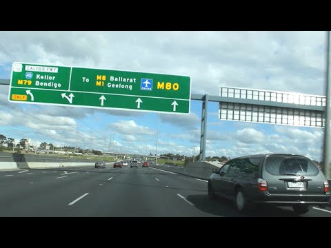 M80 Ring Road (Northern & Western Ring Road) - Melbourne, Victoria