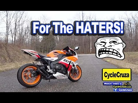 FOR THE HATERS! | MotoVlog