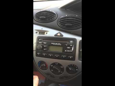 Ford radio stereo code
