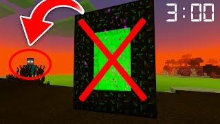NEVER Enter this Portal In Minecraft Pocket Edition at 3 AM! **WARNING**