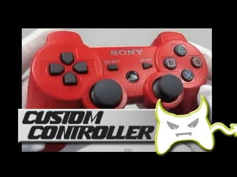 Custom PS3 Controllers Modded Or UnModded