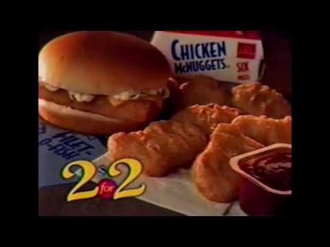 McDonalds 2 for 2 Commercial   1998