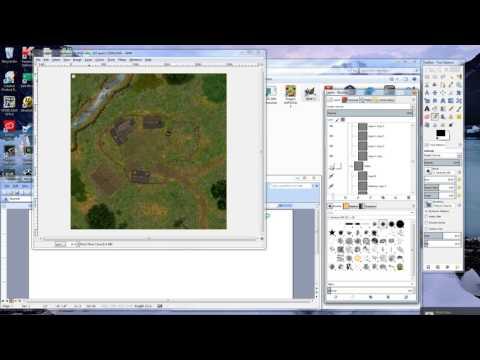 Using Gimp To Open PSD Files