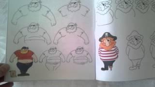 #x202b;חוברות הציור החדשות של עמית אופיר - איך לצייר שודדי ים#x202c;lrm;
