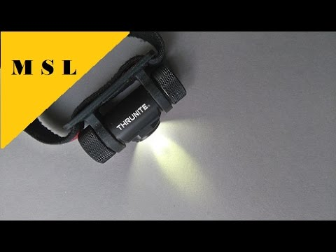 A Great Dimmable Headlight, Thrunite TH20 Review