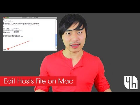 How to Edit Hosts File on Mac