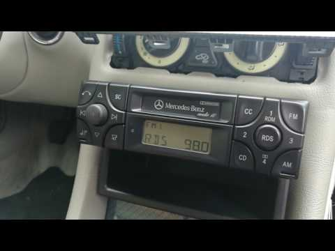 Becker BE3100 Mercedes audio 10 PHONE lock (SOLUTION)
