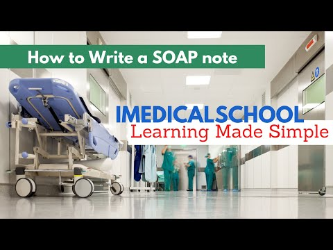 Medical School - How to write a daily progress note (SOAP note)