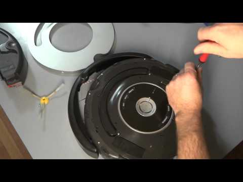 1 iRobot Roomba 500 and 600 Series Circle Dance 9 Beep Bumper Error Full Disassembling Part 1