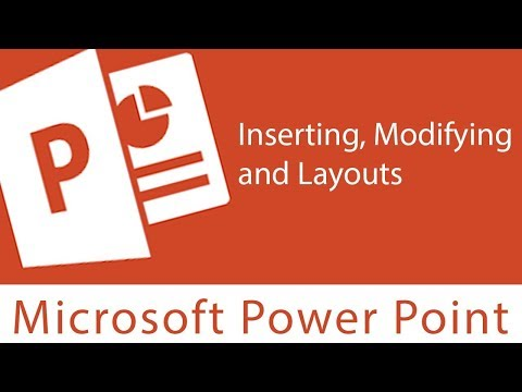 Powerpoint : Working with Slides | Inserting, Modifying and Layouts