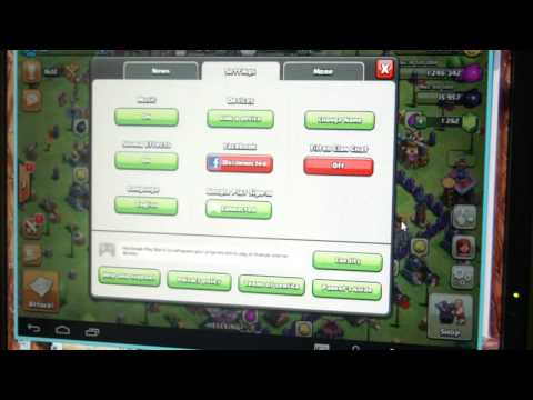how to link your clash of clans account in android to ios