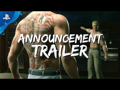 Yakuza Kiwami 2 - Announcement Trailer | PS4