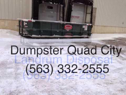 (563) 332-2555 Dumpster Rental Port Byron Illinois, Rapids City Illininois