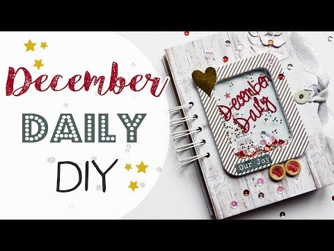 December Daily con Spirale senza rilegatrice! - December daily 2017