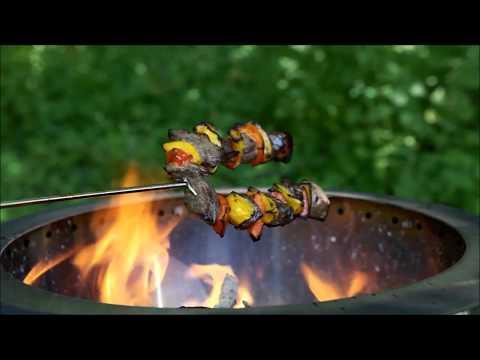 How To Make Campfire Shish Kabobs