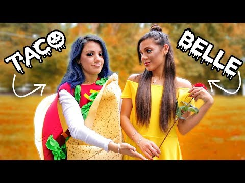 8 DIY Duo Halloween Costumes for Couples, Best Friends + Sisters! Niki and Gabi