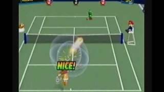 Mario Tennis(N64):Mushroom Cup(Daisy)