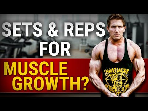 Ideal Number Of Sets & Reps For Muscle Growth | YOU ARE DOING IT WRONG!