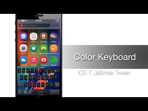 Color Keyboard - Cydia Tweak that lets you theme your keyboard - iPhone Hacks