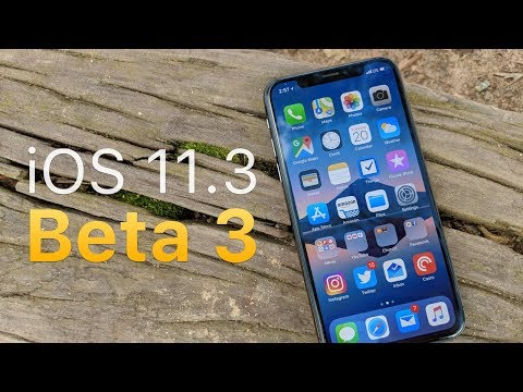 iOS 11.3 Beta 3 - What's New?