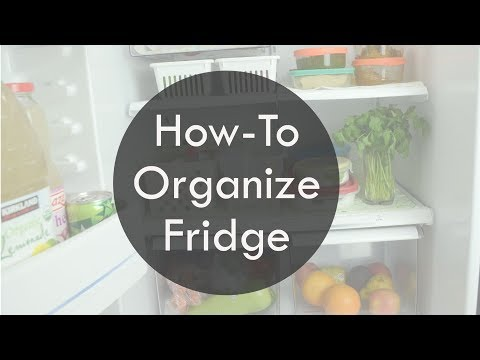How To Organise Fridge |  Tips And Tricks To Organize Fridge