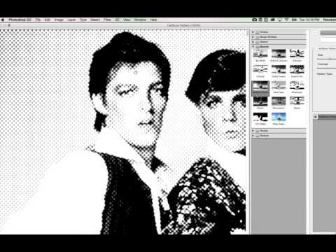 Halftone Pop Art/Punk Effect In Photoshop