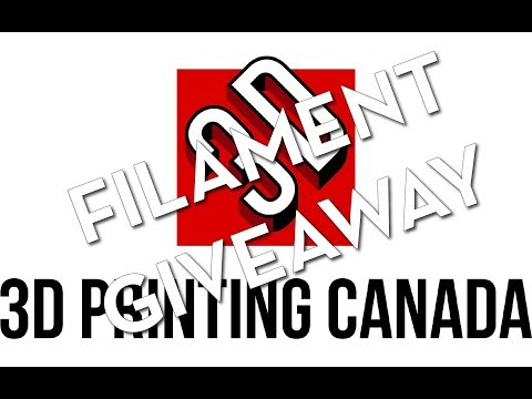 3D Printing Canada Filament Review & Giveaway!