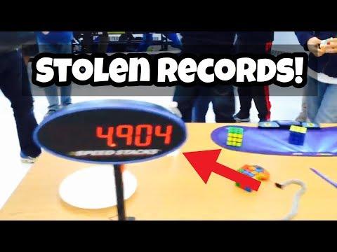 Top 3 Times Rubik's Cube World Records Got STOLEN!