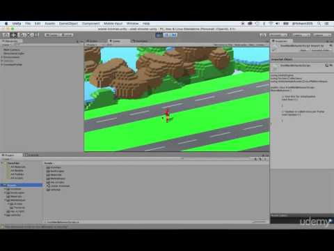 Build shooter game in Unity 3D - Programming the character movement