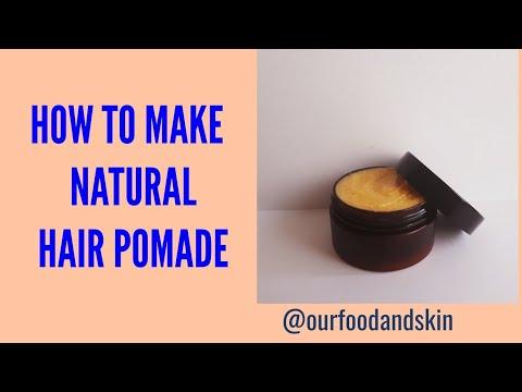 DIY HOW TO MAKE HAIR POMADE (BRAIDS& MEN'S BEARD)