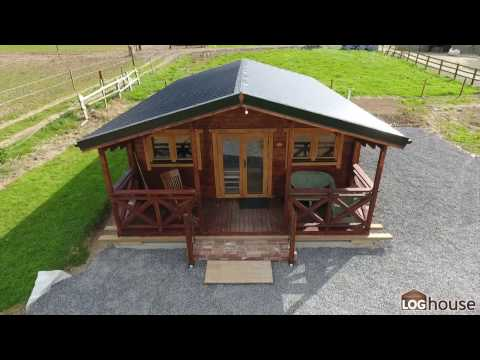 2 Bed Type C Log Cabin Built by Loghouse.ie