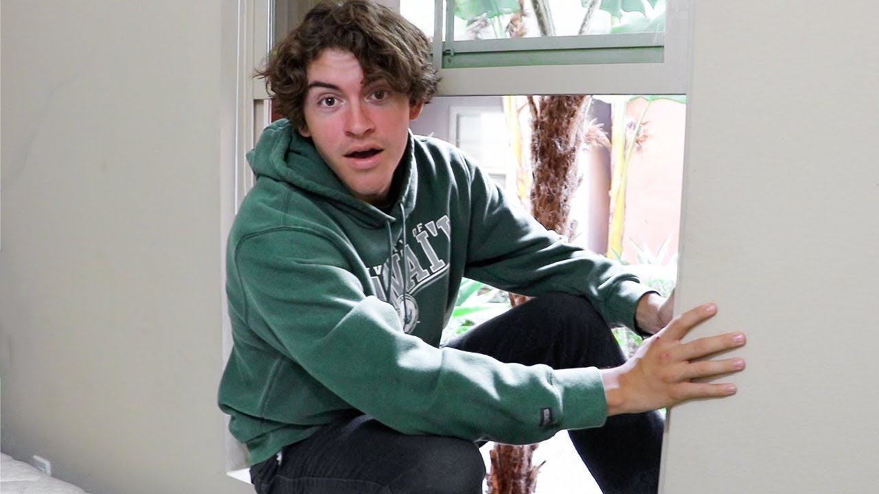 CAUGHT HIM BREAKING INTO OUR HOUSE!!