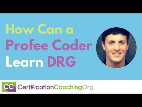 How Can a Profee Coder Learn DRG