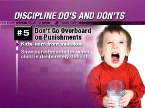 5 Things: Avoid Raising a Spoiled Child