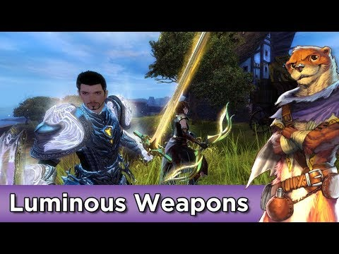Luminous Weapons Set Preview (5th Birthday Present) ► Guild Wars 2