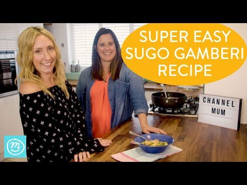 How To Make Sugo Gamberi   Take It Make It With Iceland & Channel Mum   Ad