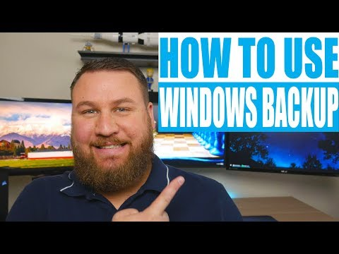 How to Setup a Backup for Your Computer in Microsoft Windows