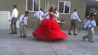 Dayanara Ramos Bravo Quince surprise dance part 1