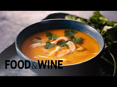 Sweet Potato Coconut Soup with Thai Curry | Food & Wine