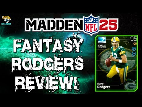 MUT 25 - Fantasy Aaron Rodgers Review! Dynamic QB!