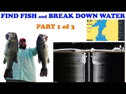 HOW TO FIND BASS WITH YOUR LOWRANCE HDS AND STRUCTURE SCAN part 1 of 3