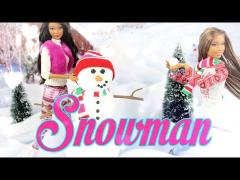DIY - How to Make: Doll Snowman EASY - Handmade - Christmas - Crafts