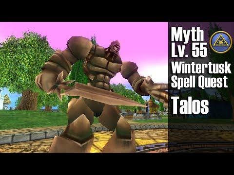 Wizard101: Talos Minion Quest: Myth Level 55 Wintertusk Spell Quest