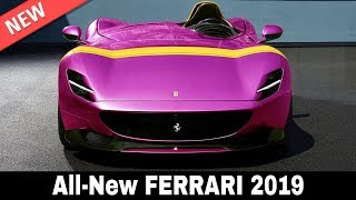 8 New Ferrari Cars from the World's Best Known Supercar Manufacturer in 2019