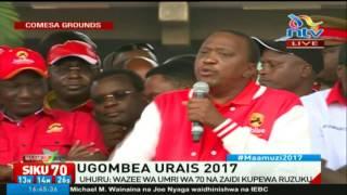 FULL VIDEO: President Uhuru Kenyatta's address at Jubilee's COMESA grounds rally